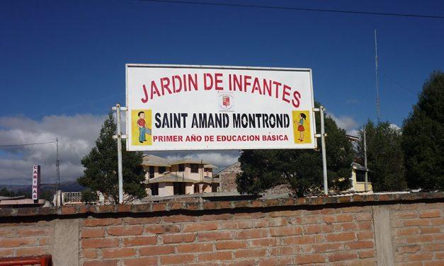 Ecole maternelle Saint-Amand-Montrond de Riobamba
