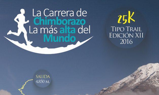 La Carrera Del Chimborazo 2016