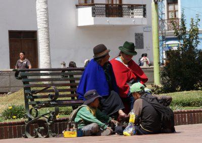 A Riobamba, moment de détente en famille (août 2011)