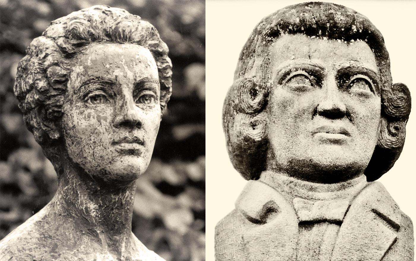 Isabel et Jean Godin des Odonais