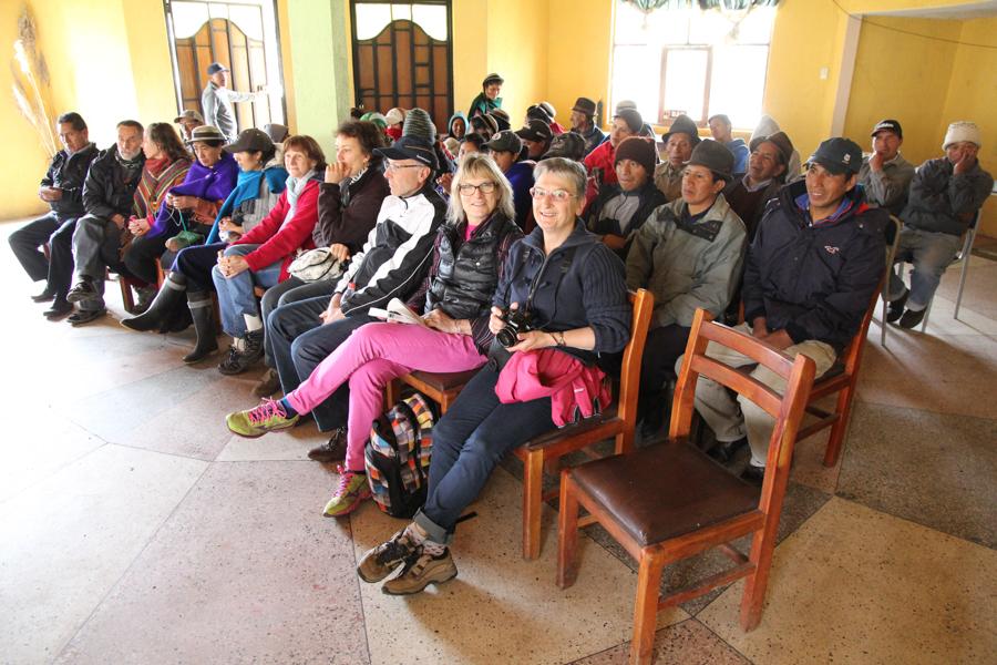 A la communauté de San Juan