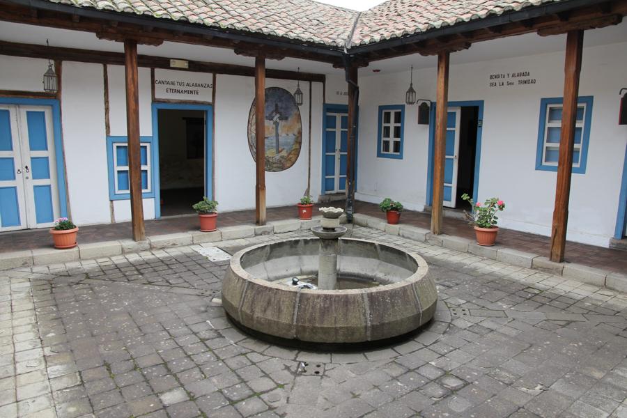 Patio equatorien