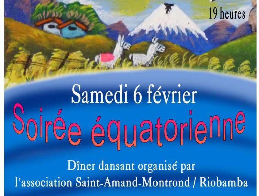 Soirée Équatorienne Saint-Amand-Montrond