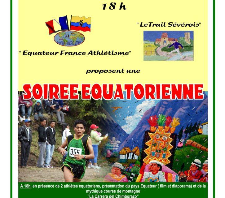 Soirée Équatorienne à Sainte-Sévère-sur-Indre