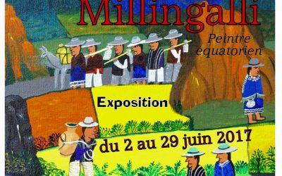 Luis Millingalli, peintre équatorien – Exposition au Prieuré d'Allichamps du 2 au 29 juin 2017