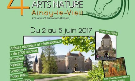 Participation au festival international d'arts nature d'Ainay-le-Vieil