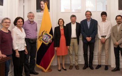 Visite à l'ambassade d'Equateur le 18 avril 2018