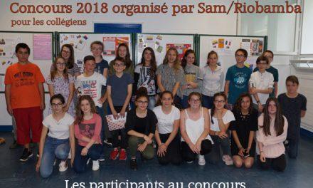 Concours 2018 en langue espagnole destiné aux collégiens
