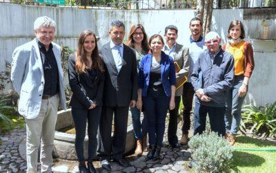 Rencontre essentielle à l'ambassade de France en Equateur, le 31 Mai 2018 à Quito
