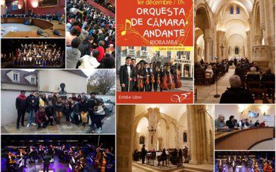 Invitation de la Orchesta de Cámara andante de Riobamba par la ville de Saint-Amand