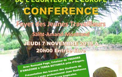 Conférence sur l'histoire de l'ivoire végétal